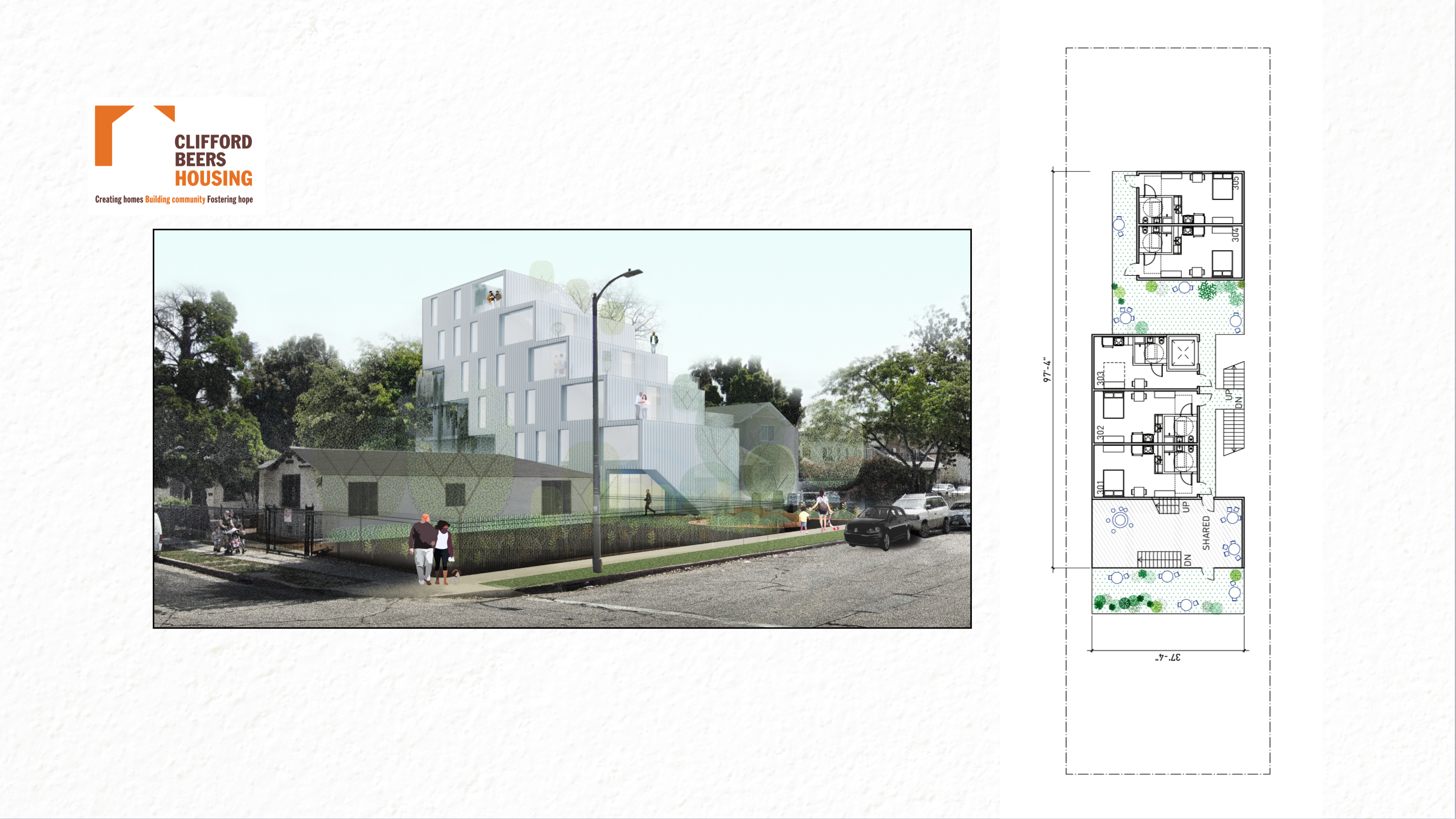 Clifford Beers - prefabricated modular housing concept