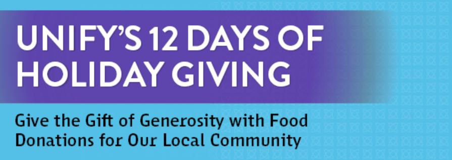 UNIFY 12 days of giving.JPG
