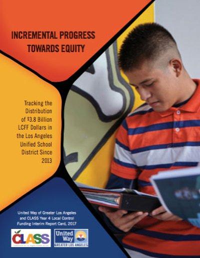 incremental progress towards education flyer