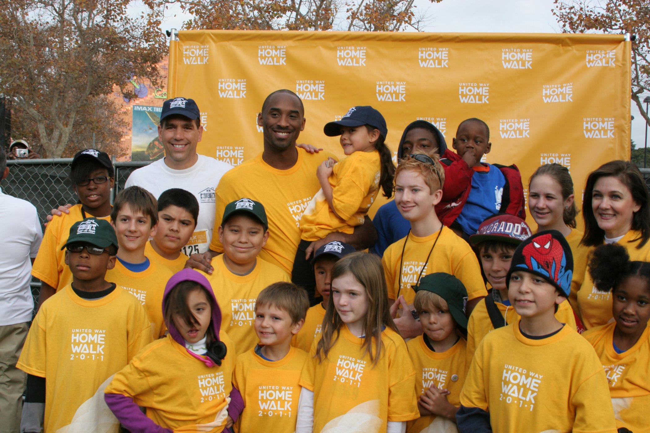 Kobe with Kids at HomeWalk