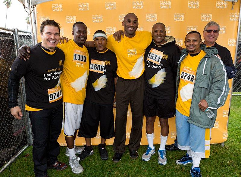L.A. Mission with Kobe Bryant at HomeWalk 2012