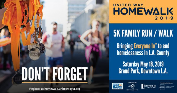 HomeWalk 2019 Don't Forget Card - Version 1