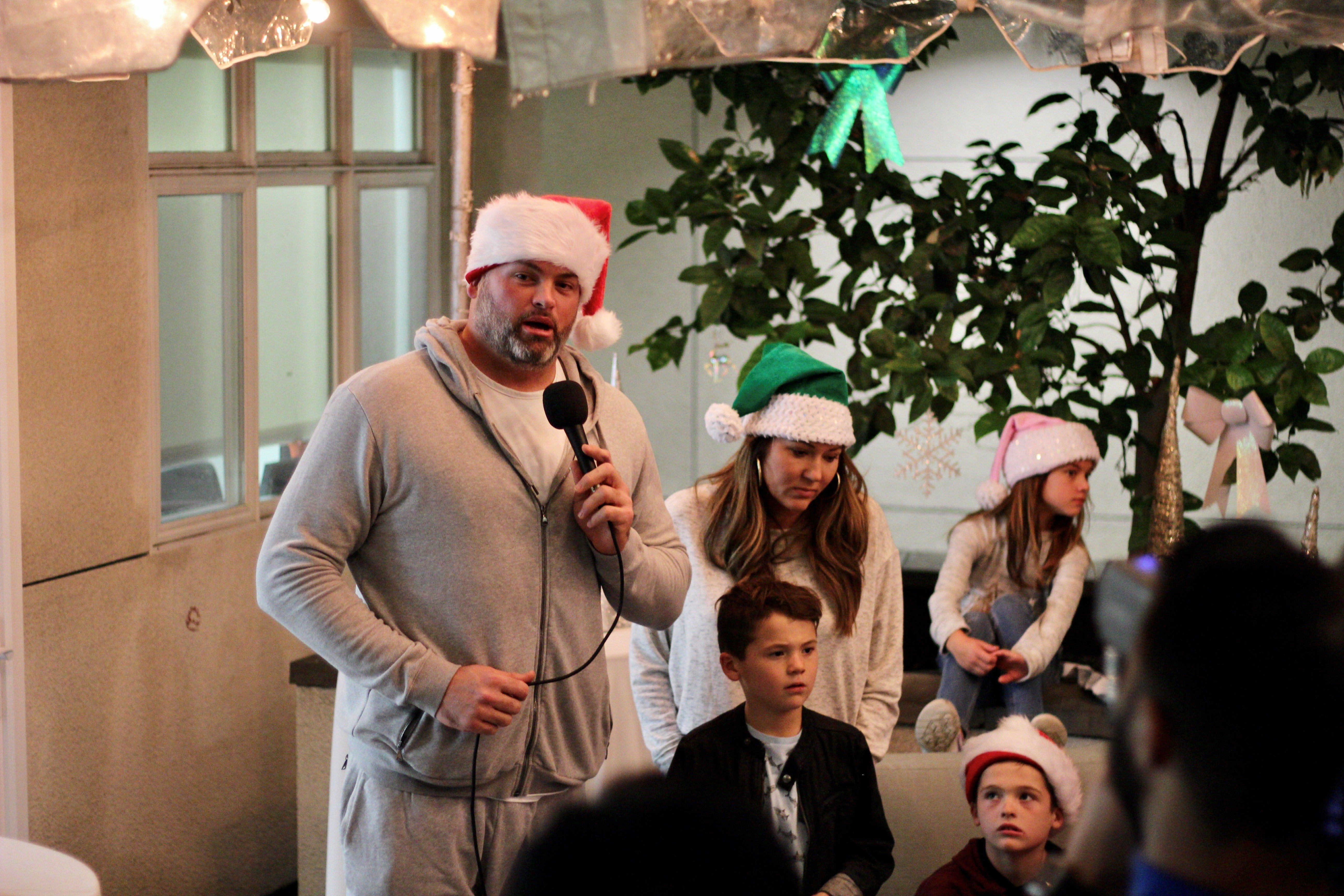 Andrew Whitworth 2019 Christmas Charity