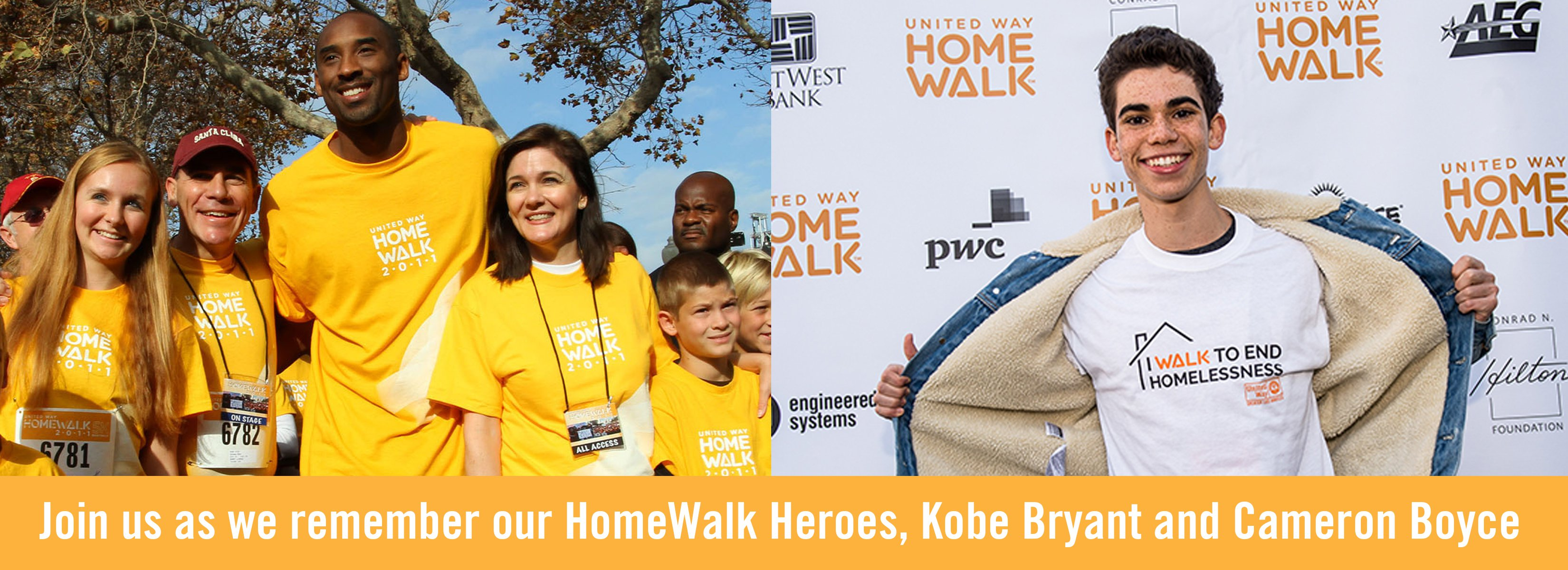 Save the date Homewalk to end homelessness 2020 on Saturday May 30th