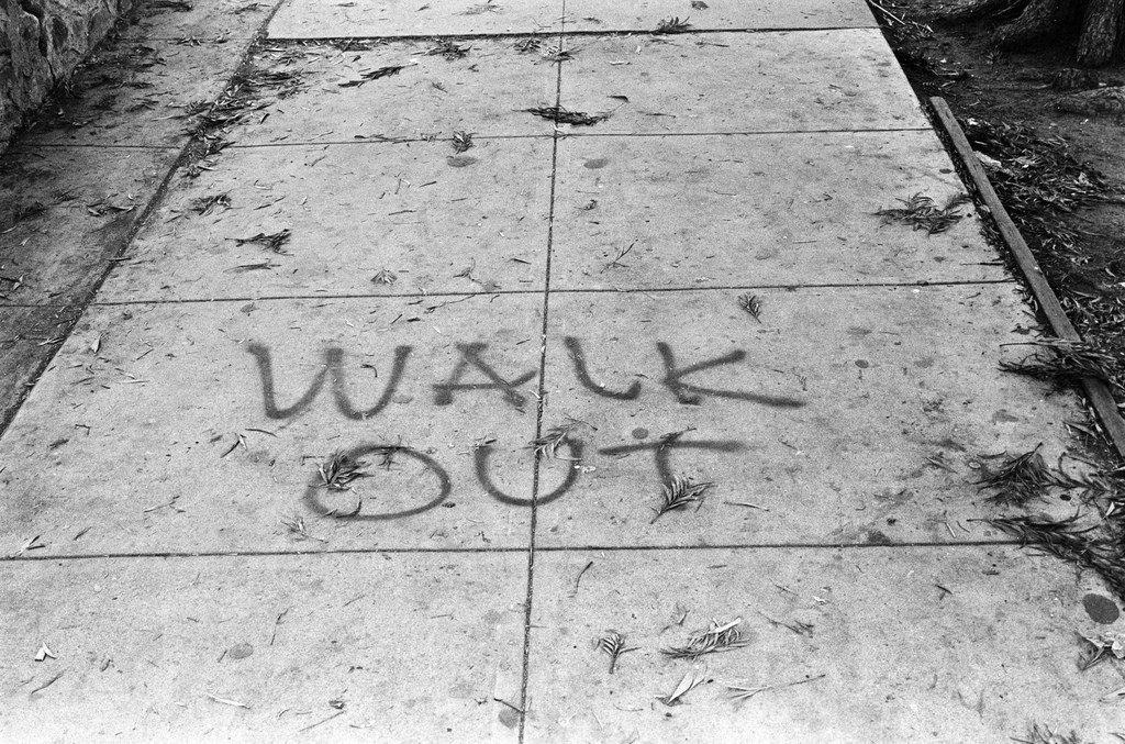 Walk Out sidewalk