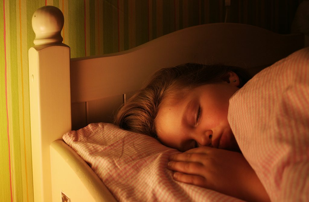 Establishing an autism sleep routine for kids with autism.