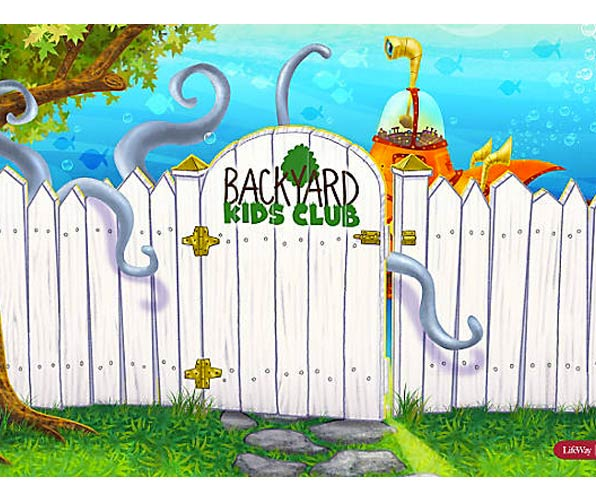 Submerged Backyard Kids Club