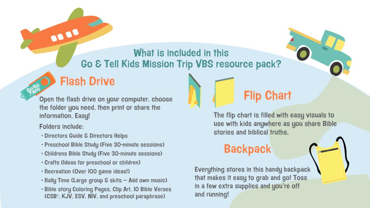 Go & Tell Kids Archives - LifeWay VBS
