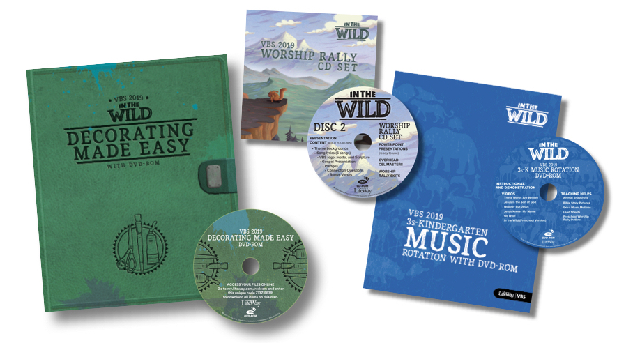 VBS | Vacation Bible School | Help! I Don't Have a Disc Drive