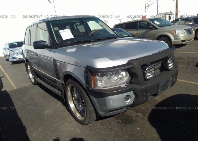 Inventory #728095280 2007 Land Rover RANGE ROVER