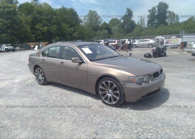Inventory #175136526 2002 BMW 745