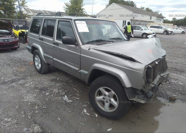 Inventory #267150150 2000 JEEP CHEROKEE