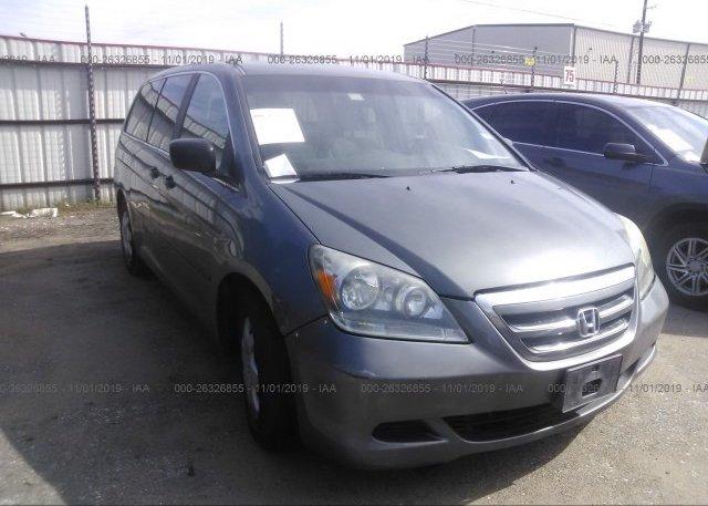 Inventory #762268036 2007 Honda ODYSSEY