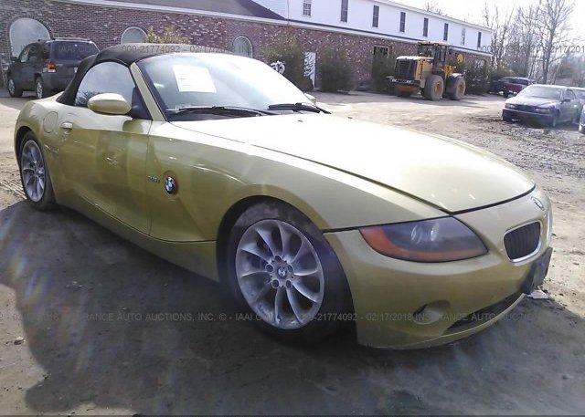 Inventory #600752781 2004 BMW Z4
