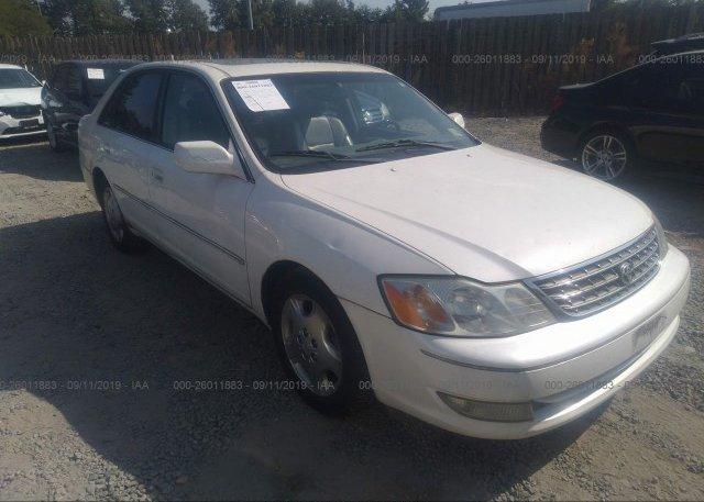 Inventory #877825215 2003 Toyota AVALON