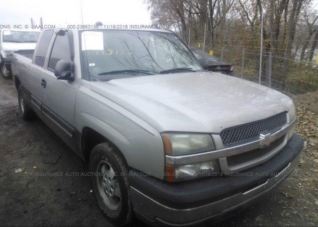 Inventory #448195234 2004 Chevrolet SILVERADO