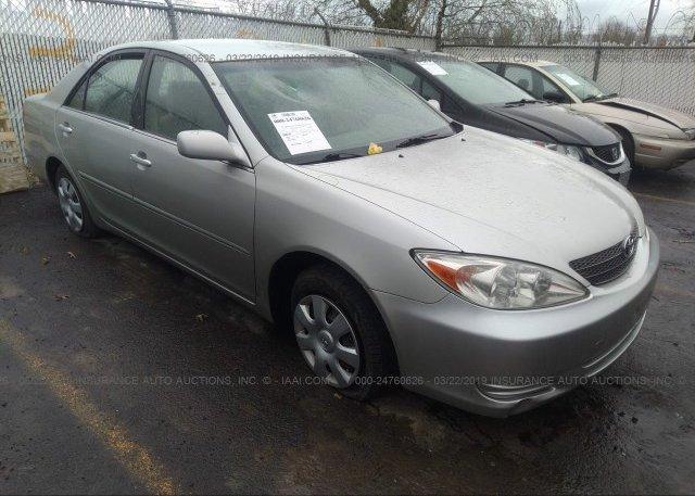 Inventory #762029014 2002 Toyota CAMRY