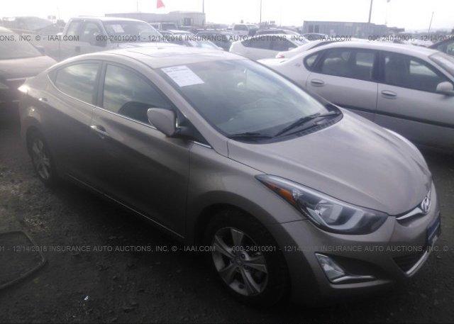 Inventory #818058183 2016 Hyundai ELANTRA