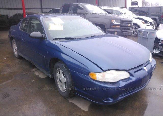 Inventory #291405886 2003 Chevrolet MONTE CARLO