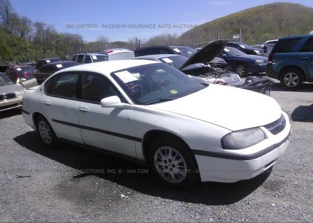 Inventory #561584532 2002 Chevrolet IMPALA