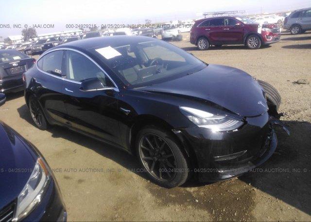Inventory #302490684 2018 Tesla MODEL 3