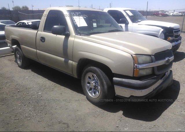 Inventory #458626857 2004 Chevrolet SILVERADO