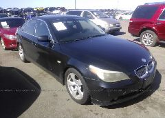 2005 BMW 530 - WBANA735X5B816726 Left View