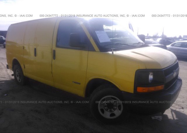 Inventory #900903085 2005 Chevrolet EXPRESS G2500