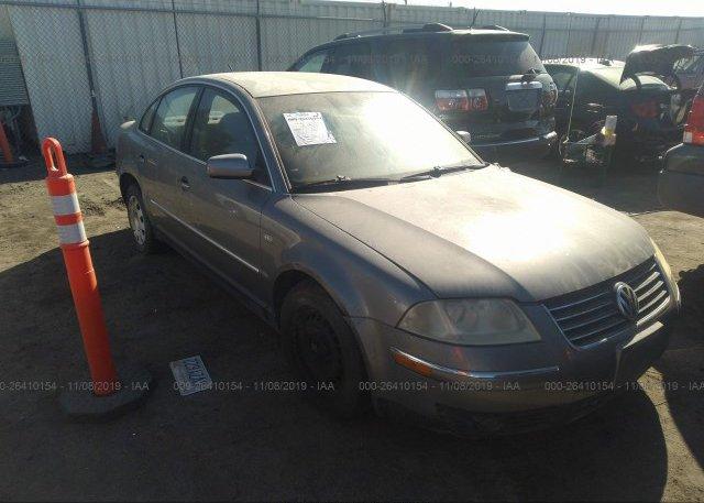 Inventory #444877249 2002 Volkswagen PASSAT