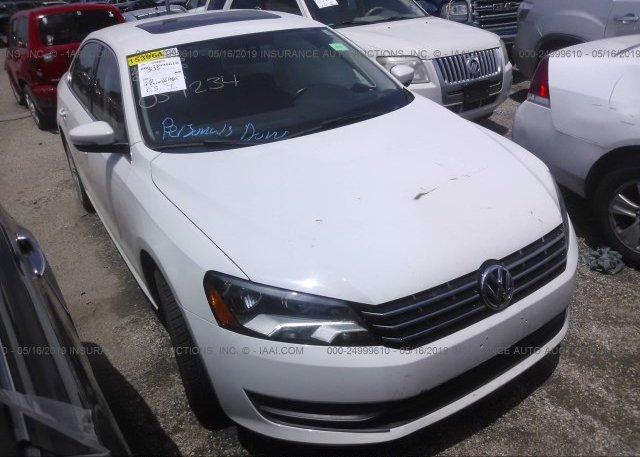 Inventory #937240827 2015 Volkswagen PASSAT
