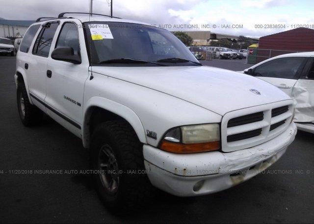 Inventory #635794202 1998 Dodge DURANGO