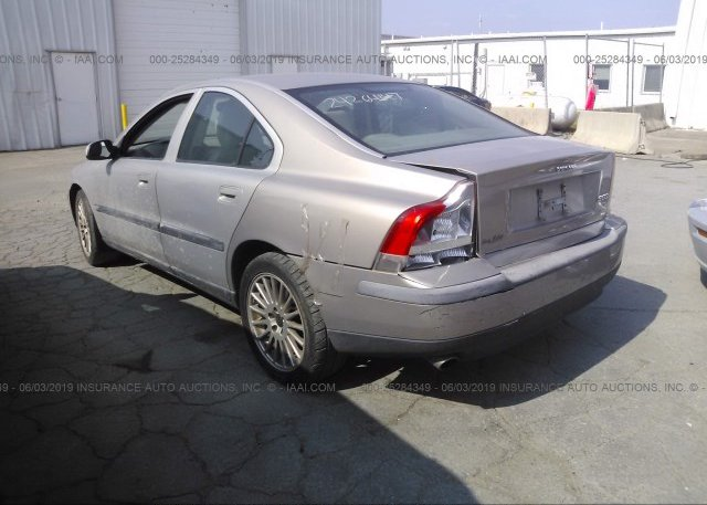 2002 Volvo S60 - YV1RS53D922122290