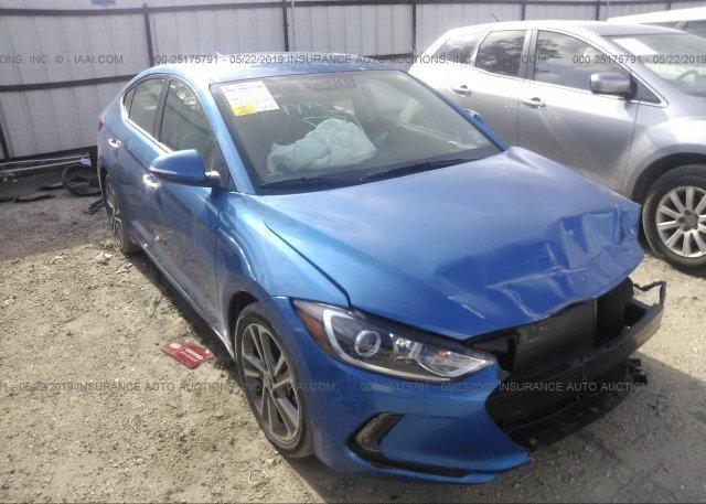 Inventory #374905602 2017 Hyundai ELANTRA