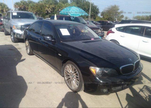 Inventory #416158645 2007 BMW 750