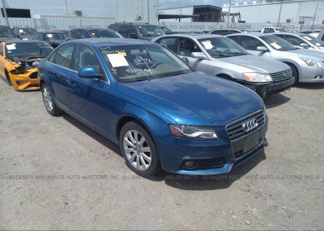 Inventory #300637882 2009 AUDI A4