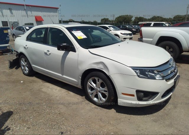 Inventory #334755165 2012 FORD FUSION