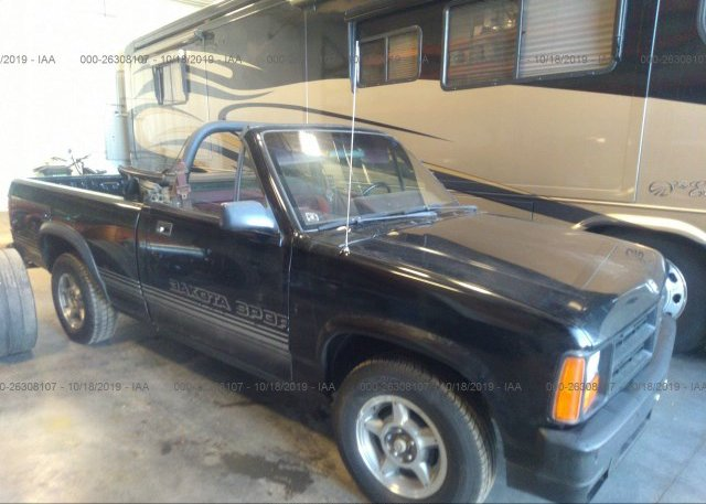 Inventory #796640734 1989 Dodge DAKOTA