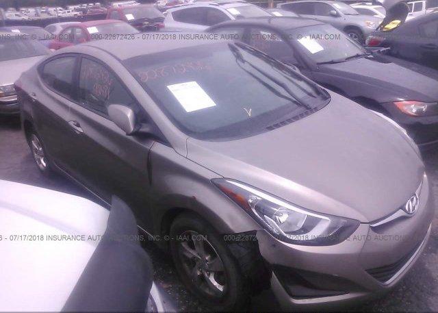 Inventory #613277045 2015 Hyundai ELANTRA