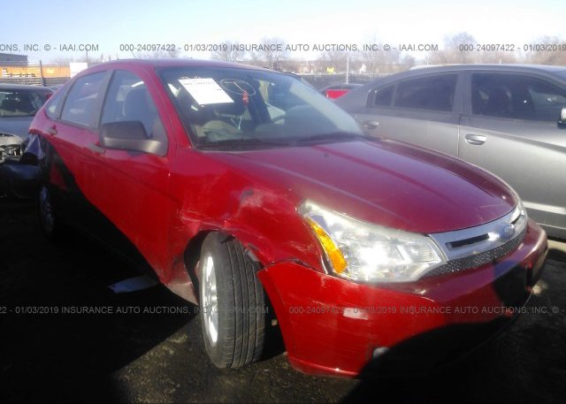 Inventory #634319817 2009 FORD FOCUS