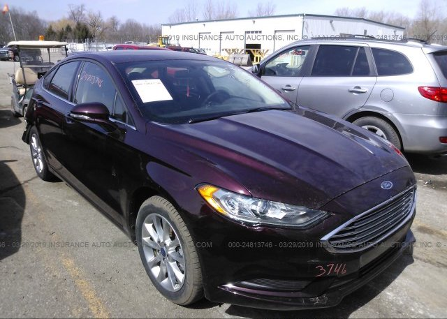 Inventory #737849502 2017 FORD FUSION