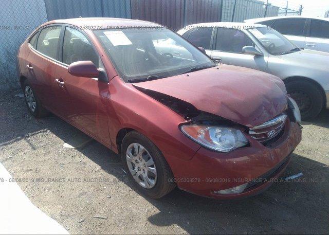 Inventory #706374005 2010 Hyundai ELANTRA