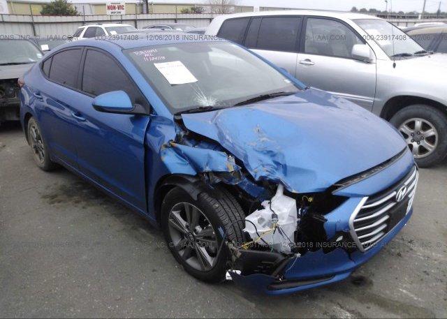 Inventory #309100065 2018 Hyundai ELANTRA