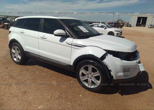 Inventory #690565177 2015 Land Rover RANGE ROVER EVOQU