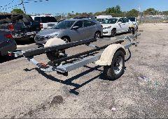 2012 MIDWEST BOAT TRAILER - 1MDAPAR12CA486118 rear view