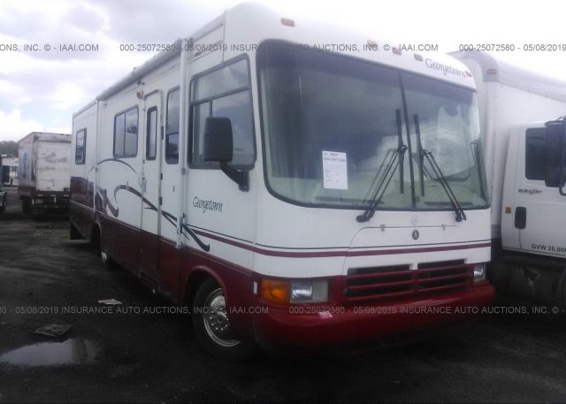 Inventory #950666290 2000 WORKHORSE CUSTOM CHASSIS MOTORHOME CHASSIS