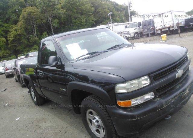 Inventory #938801836 2002 Chevrolet SILVERADO