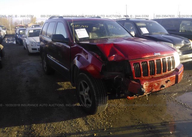 Inventory #805802411 2005 JEEP GRAND CHEROKEE