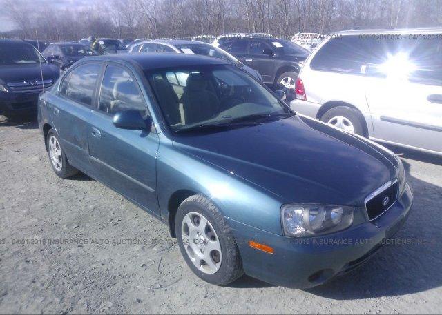 Inventory #498563320 2003 Hyundai ELANTRA