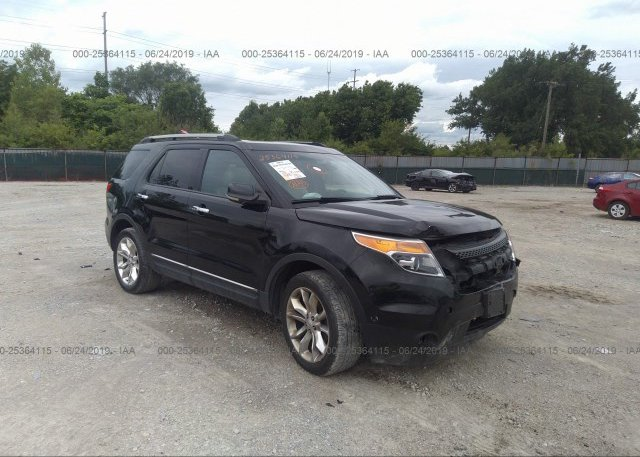 Inventory #858818153 2012 FORD EXPLORER