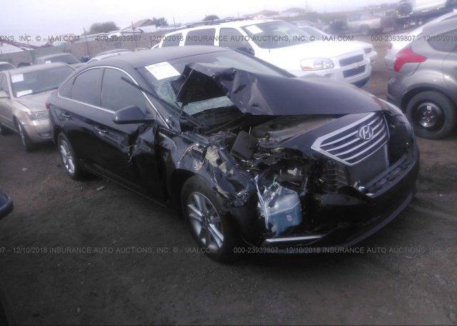 5npe24af1gh346114 Salvage Black Hyundai Sonata At Phoenix Az On